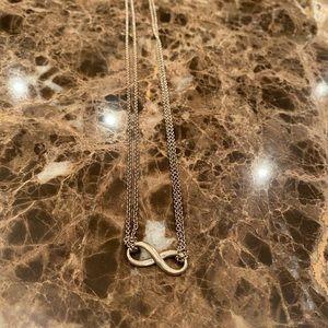 Authentic Tiffany infinite pendant